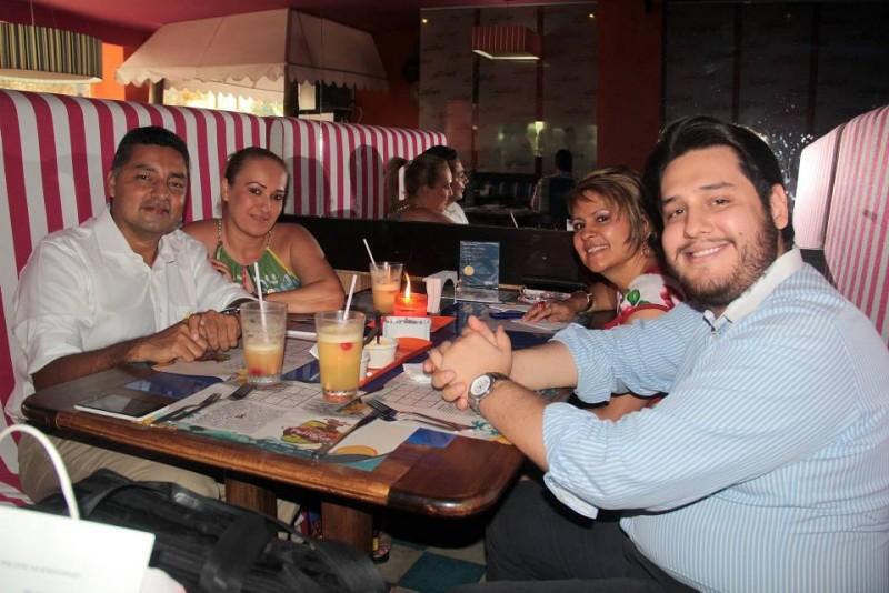 Arley Valero, Cristina Quiroga, Carolina Torres y Jorge Ordóñez. - Javier Gutiérrez / GENTE DE CABECERA