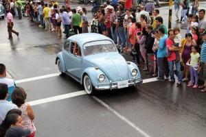 El desfile de autos clásicos y antiguos es uno de los eventos que reúne a las familias de la ciudad. Será el sábado 12 de septiembre por las diferentes calles de la ciudad
