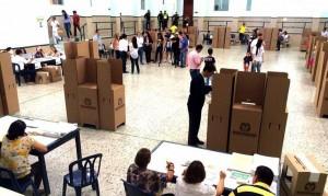 El Colegio San Pedro Claver es uno de los puestos de votación que más recibe a ciudadanos. Recuerde pedir el 25 de octubre el tarjetón de la JAL para que elija a sus ediles de la comuna 12