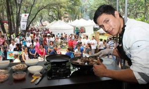 Puro Sabor Social es el principal evento de la Feria Bonita que se realiza en el sector de Cabecera