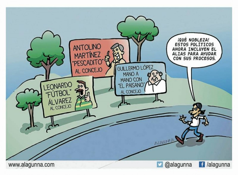 Caricatura de GENTE DE CABECERA