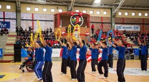 El acto de inauguración de las olimpiadas fue en el coliseo de la Unab, Universidad Autónoma de Bucaramanga - Suministrada / GENTE DE CABECERA