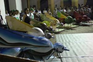 Presentación oficial de las hormigas ganadoras, en el Centro Cultural del Oriente.