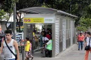 La estación de la carrera 33 con calle 51, así como las demás recién construidas, funcionan en horario de 8:00 a.m. y 9:00 p.m. - Fabián Hernández / GENTE DE CABECERA