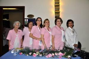 La Cena de La Rosa también exalta la labor de algunas mujeres que conforman las Damas Rosadas