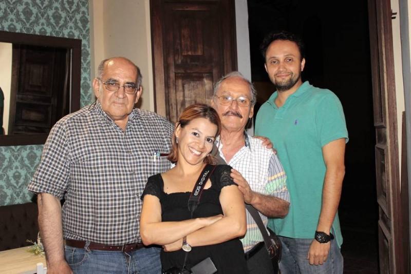 Carlos Álvarez, Lisbeth Torres, Luis Enrique Hurtado y Luis José Galvis. - Fabián Hernández / GENTE DE CABECERA
