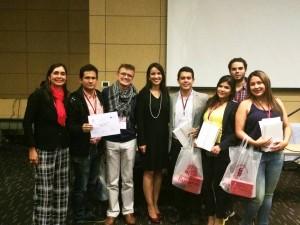 Este es el equipo ganador, seleccionado por la Unab mediante el concurso regional Carlos Javier Uribe Mutis. - Suministrada / GENTE DE CABECERA