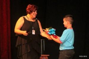 Sandra Barrera, directora del Teatro Corfescu, estuvo como invitada especial en un evento cultural de narración oral inspirado en Abrapalabra, en Costa Rica. - Suministrada / GENTE DE CABECERA