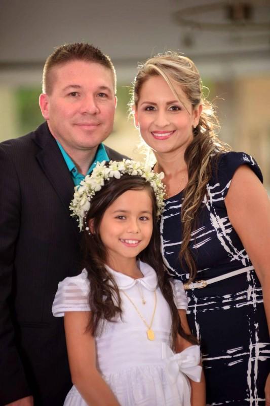 María Alejandra Moreno Carrillo, William Gerardo Celis Cadena y Carla Cristina Carrillo Burgos. - Suministrada / GENTE DE CABECERA