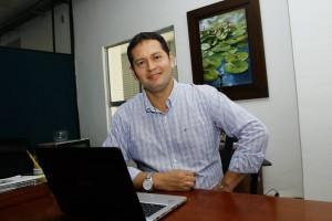 Sergio Velásquez es un hijo innato de Cabecera, sector al que ve con gran proyección comercial y cultural.