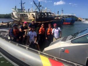 El grupo Mica hacia Punta Gallinas. - Suministrada/ GENTE DE CABECERA