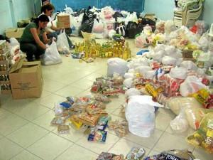 En años anteriores el MPPC ha liderado campañas con mercados y regalos para niños desfavorecidos de la ciudad y el área metropolitana. - Suministrada / GENTE DE CABECERA