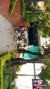 En la foto se ve a los obreros en su hora de almuerzo. - Suministrada / GENTE DE CABECERA