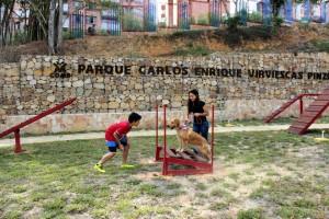 Este jueves se abrió al público el parque Carlos Virviescas Pinzón, ubicado en la carrera 40 entre calles 42 y 46. - Fabián Hernández / GENTE DE CABECERA