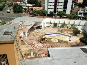 La demolición de la Casa Cartagena generó opiniones a favor y la mayoría en contra