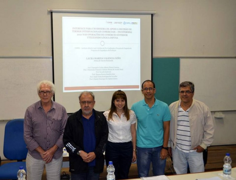 Carlos Cosenza, Francisco Doria, Laura Marina Valencia, Claudio Grecco y Paulo Víctor Carvalho. - Suministrada / GENTE DE CABECERA