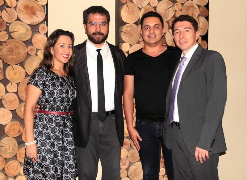 Beatriz Elena Mantilla, Miguel Ángel Cruañas, Cristian Camilo Carreño y Gabriel Mancipe. - Javier Gutiérrez / GENTE DE CABECERA