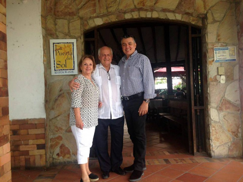 Mercedes Ardila, Manuel Elkin Patarroyo y Jorge Ernesto Forero Tobón. - Suministrada / GENTE DE CABECERA