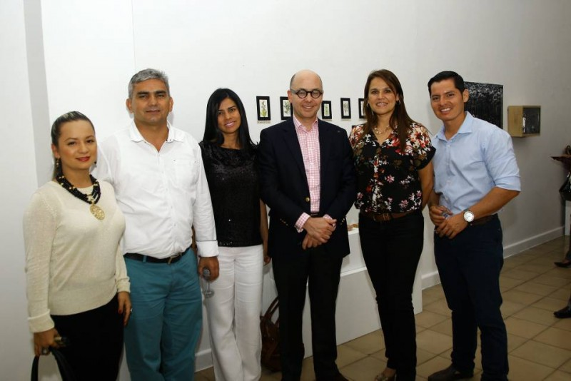 Maira Álvarez, Óscar León, Mónica Acosta, Jorge Cabrera, Diana Liseth Ramírez y Ómar Fonseca. - César Flórez / GENTE DE CABECERA