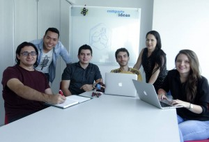 William García, Pedro Chaparro, Juan Camilo Ruiz, Fabián Carrillo, Andrea Carreño y Jimena Castellanos son los creadores de Eventsite