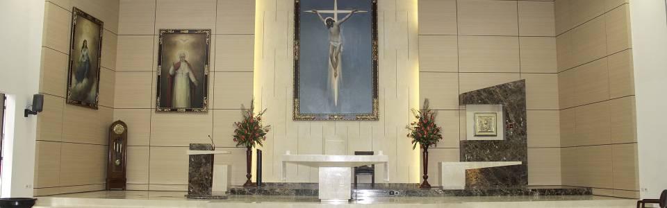 Templo de San Pío X luce más moderno