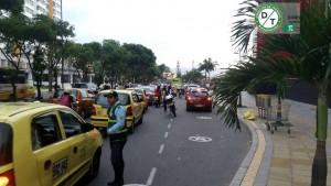 Se hizo especial énfasis con los taxistas para que usen solamente las zonas habilitadas. - Suministrada / GENTE DE CABECERA