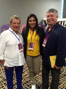 Mario Hernández, María Fernanda Díaz y Pedro Uribe