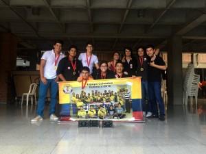 Equipo de robótica del Colegio San Pedro Claver. - Suministrada / GENTE DE CABECERA