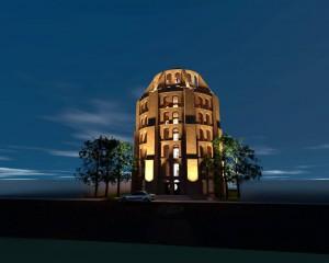 Así luciría La Torre de Babel, propuesta arquitectónica para ampliar el Museo de Arte Moderno de Bucaramanga. - Suministrada / GENTE DE CABECERA