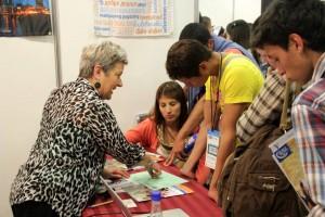 En el primer semestre de 2015, Eduexpos tuvo una asistencia en Bucaramanga de casi 2 mil personas. - Suministrada / GENTE DE CABECERA