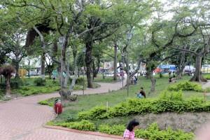 El Parque San Pío, espacio emblemático del sector y la ciudad, es uno de los que más exige mantenimiento de manera urgente. - Archivo / GENTE DE CABECERA