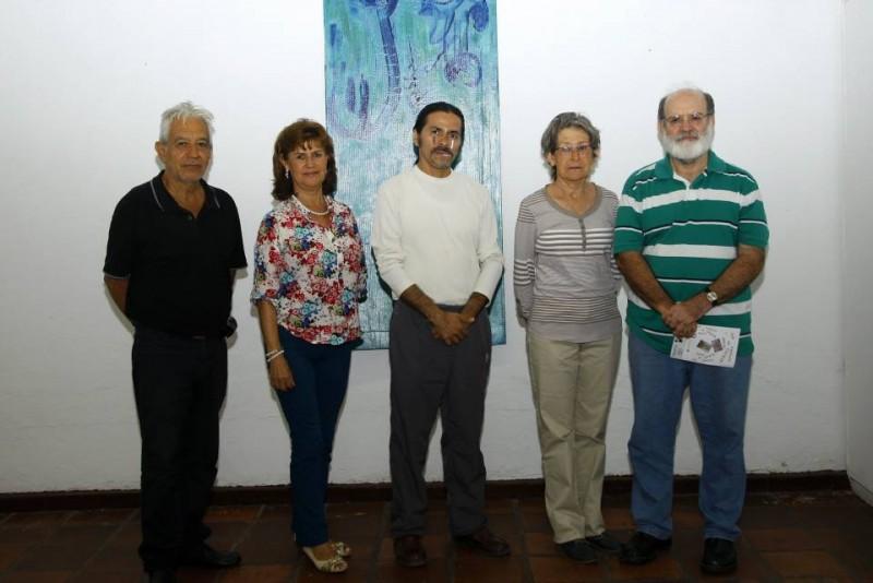 Carlos Prada Hernández, Nidia Ramírez, Miguel Antonio Sánchez, Cecilia García Rodríguez y Mario Gómez Díaz. - César Flórez/GENTE DE CABECERA
