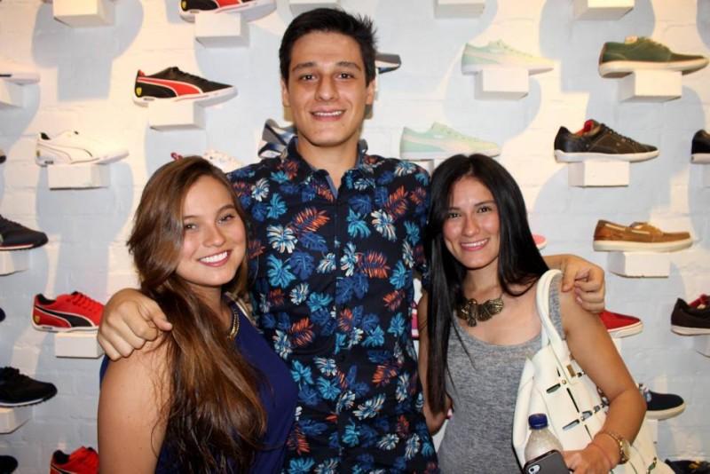 Paula Rojas, Juan Diego LLano y Daniela Soto. - Francisco Vera/GENTE DE CABECERA
