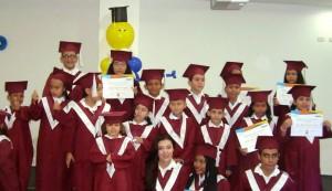La primera ceremonia de graduación se realizó el pasado 1 de abril, con más de 50 'graduandos'. - Suministrada/GENTE DE CABECERA