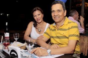 Fabiola Báez y Gilberto Ramírez.
