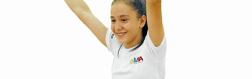 Lucía Paola Bautista Sarmiento: talento joven que se destaca en el squash santandereano