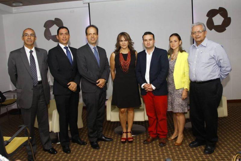 Carlos Jurado, Norberto Morales, Carlos Arteta, Corima Amador, Juan Diego Méndez, Gloria Tristancho y Carlos Paredes. - César Flórez/GENTE DE CABECERA