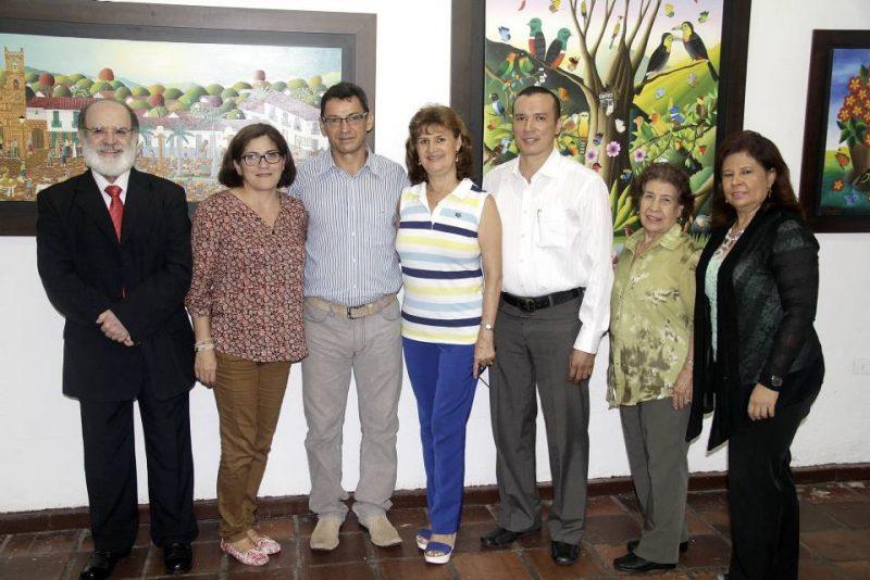Mario Gómez, Claudia Amaris, Ángel Tangua, Nidia Ramírez, José Luis Peña, Herminda Rojas y Sol Bohórquez. - Javier Gutiérrez/GENTE DE CABECERA
