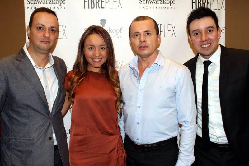 Ricardo Guzmán, Laura Parra, Alfonso Reyes y Manuel Vargas. - Francisco Vera/GENTE DE CABECERA