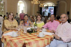 Pilar Silva, Daniela Ardila, Martha Soledad Duarte, Ignacio Ardila y Alberto Duarte