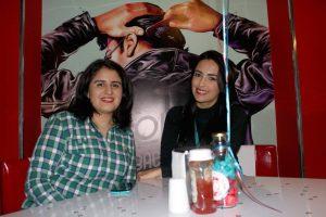 Viviana Rueda y Andrea Garzón