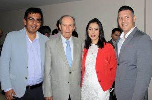 Eduardo Carrillo, Alberto Montoya Puyana, Griselda Pulido y Kevin Doney