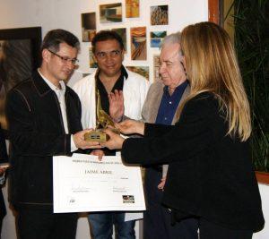 Entre sus reconocimientos está el Primer puesto Mariamulata de Oro, Categoría Pintura, en el I Premio GRAU a las Artes 2014. - Suministrada / GENTE DE CABECERA