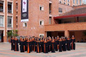 Los integrantes del Coro de la Unab viajarán a Austria y Alemania en julio. - Suministrada/GENTE DE CABECERA