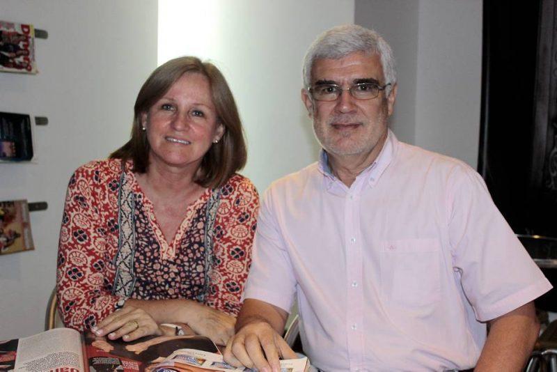 Susana Galvis y Álvaro Serrano. - Fabián Hernández/GENTE DE CABECERA