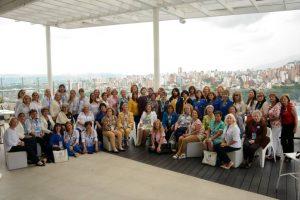 Participantes del XX Congreso Soroptimist Internacional de las Américas. - Suministrada / GENTE DE CABECERA