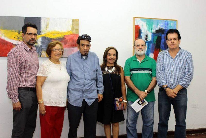Fidel Vásquez, Cecilia Luciniani, Camilo José Vásquez, Clemencia Hernández, Mario Gómez y Carlos Serrano Gutiérrez. - Fabián Hernández/GENTE DE CABECERA