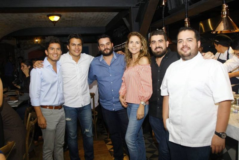 Fabio Becerra, Javier Rojas, Sebastián Jaimes, Anna María Smith, Jaime López y Carlos Andrés Ibáñez. - César Flórez/GENTE DE CABECERA