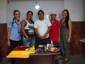 El equipo docente junto con los estudiantes. - Suministrada/GENTE DE CABECERA