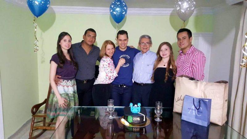 Jessica Vergara, Jorge Palmezano, Olga Rueda, William Vergara, Ezequiel Vergara, Yesenia Vergara y Carlos Aparicio. - Suministrada/GENTE DE CABECERA
